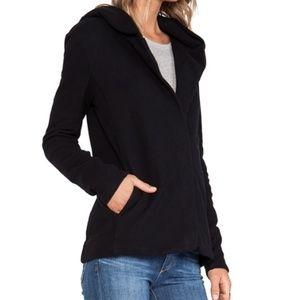 James Perse Hooded Fleece Zip Jacket